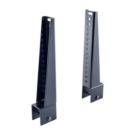4 topes laterales 25cm para barras Cruz 35x35